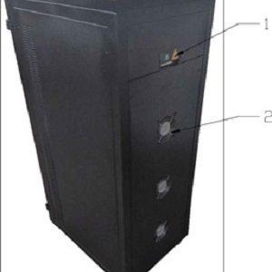 Stabilizator tensiune servomotor Electropower EP-TNS-30kVA-(24000W)-400V back